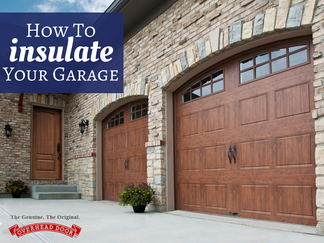 Ways To Insulate Your Garage