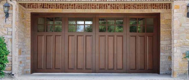 Scintillating Wooden Garage Doors Design Photos Exterior